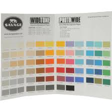 Savage Color Chart For Background Paper In 2019 Paper