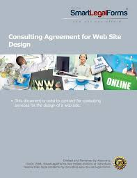 Consulting Agreement For Web Site Design – Smartlegalforms