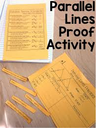 my proofs proving lines parallel proof activity math classroom high