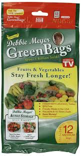 Food Storage Times Amazoncom Debbie Meyer Greenbags Freshness Preserving Food
