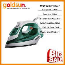 Bàn ủi hơi nước quần áo Goldsun BH 12 tháng chính hãng GIR2301 - Bàn ủi, bàn  là