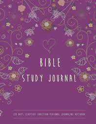 Personal Journaling 120 Days Scripture Christian Personal Journaling Notebook Bible Study Journal For Women Girls Daily Bible Journal Bible Study Notebooks And