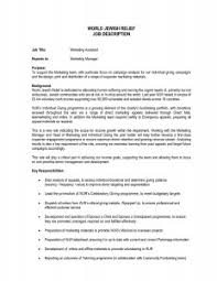 Cover Letter Sample Resume For Sales And Marketing Assistant Save