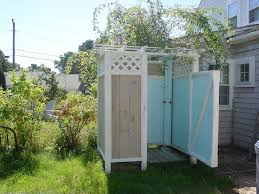 charming outdoor garden and backyard shower space enclosure design ideas of style home design property exterior design ideas outdoor showers and tubs
