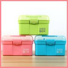 portable medicine box first aid kit box plastic container