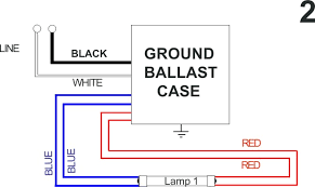 fluorescent light ballast wiring diagram wiring diagram and fluorescent light ballast wiring diagram how to wire