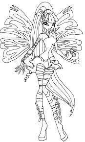 Disegni Da Colorare Winx Sirenix Fredrotgans