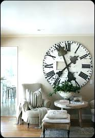 dining room clock extra large wall clock love the huge rustic clock for dining room wall
