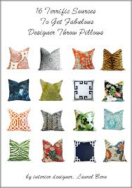 Designer Decorative Pillows For Couch The Little Known Truth About Throw Pillows laurel home 42