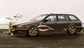 Bmw Shark Design Bmw E39 Shark Race By Rob3rt Design On Deviantart
