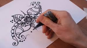 мехенди на руке легкие рисунки с фото