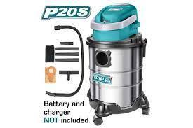 Máy hút bụi 20L dùng pin Lithium‑Ion 20V TOTAL TVLI2005 giá rẻ tại bigshop