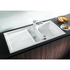 blanco white sink. Interesting White Blanco Idessa Ceramic 6S Sink And Tap Pack Shown Is Not Included  Inside White E