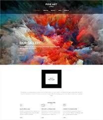 Gallery Website Template Free Photo Album Web Art
