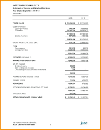 Pro Forma Example Multiple Step Income Statement Example Of Earnings Pro Forma