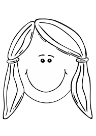 Small Picture Beautiful Girls Face Coloring Pages Coloring Coloring Pages