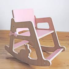 personalised child s wooden rocking chair design ideas