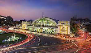 wallpaper bangkok thailand hua lamphong train station motion night time cities night