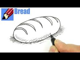 loaf of bread drawing. Delighful Drawing And Loaf Of Bread Drawing O