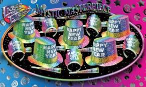 New Year's Eve Mystic Masterpiece Party Kit for 40