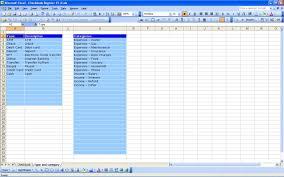 Excel Checkbook Template Free Printable Check Register Sheets Sample Worksheets