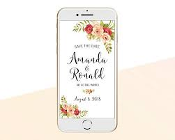 Electronic Save The Date Sms Message Iphone E Card