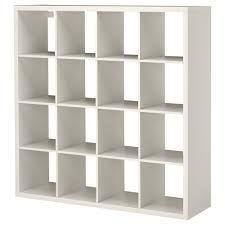 KALLAX shelf unit with 4 inserts, white Width: 30 3/8