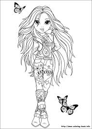 top model book coloring pages info moxie z on best ideas unique of gallery