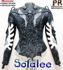 jacket of leather 001