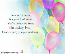 Birthday Invite Ecards Birthday Invitation Cards Free Invitation Card For Birthday Party