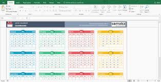 Microsoft Free Calendar Template Beautiful 41 Sample Microsoft Excel Calendar Template