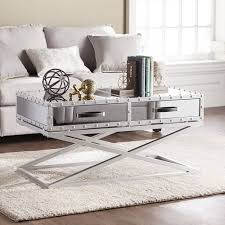 mirrored coffee table. Mirrored Coffee Table - The Glamorous Accent Every Living Room Needs A