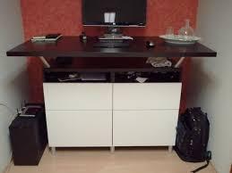 reworking home office. corner u0026 extra tall standing desks get home decorating reworking office w