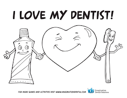Fresh Dental Coloring Pages For Kids Online Dentist To Print ...