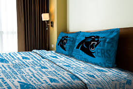 Nfl Bedroom Furniture Nfl Ii Carolina Panthers Bedding Boys Pinterest Twin Bedspread