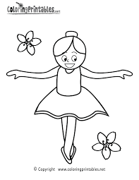 Dance Shoes Coloring Pages For Kids Printable Coloring Page For Kids
