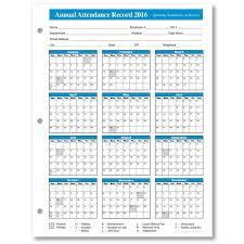 Absentee Calendar Get Printable Calendar 2016 Employee Attendance Calendar Printable