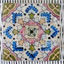 Decorative Tile Coasters Colorful Moroccan tile coasters Travertine Coasters Stone 91