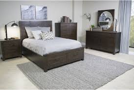 Pine Hill Storage Bedroom in Brown | Mor Furniture for Less