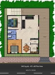 Download 2 Bhk Home Plan Home Intercine Plans North Facing House Plans With Elevation L