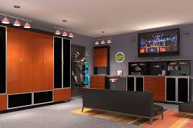 Amusing Man Cave Ideas For Basement Pics Decoration Ideas ...