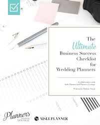 Wedding Coordinator Checklist The Ultimate Business Success Checklist For Wedding Planners