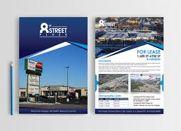 Commercial Flyers Property Flyer Design 3 Page Flyer To Showcase Market A Commercial