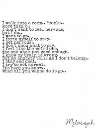 Social Anxiety Quotes Cool Anxiety Quotes Quotes Meloesjuh Quotes Funny Things Etc