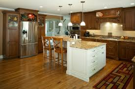 Multi Wood Kitchen Cabinets Solid Wood Kitchen Cabinets Middletown Nj By Design Line Kitchens