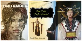 tomb raider the art of survival book review