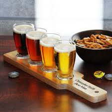 gifts for beer drinkers. Brilliant Gifts Personalized Beer Flight Gift In Gifts For Drinkers O