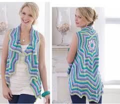 Free Crochet Vest Patterns Custom 48 Crochet Vest Patterns AllFreeCrochet