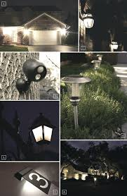full image for commercial outdoor security lighting led home style safety flood light fixtures