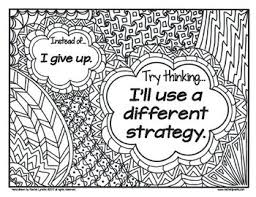 Growth Mindset Coloring Pages Fixed Vs Growth Mindset Set By